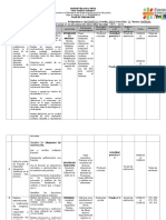 Modelo de Plan de Evaluación Matemática