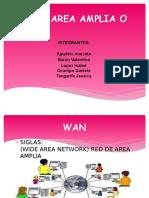 Red de Area Amplia o Wan (2)