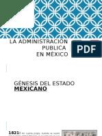 La Administración Publica en México