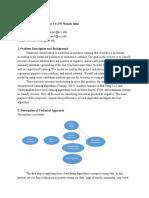 Project Progress Report Google Docs