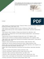 Bibliografia Flores de Bach