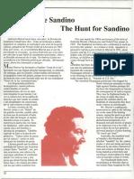 Caceria de Sandino