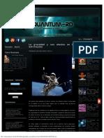 La Gravedad y Sus Efectos en Los Astronautas