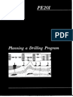Manual Pe 201 Planning Drilling Program