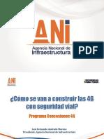 Agencia Nacional de Infraes tructura - Seguridad Vial 2013