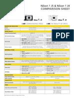Nikon1-J5-J4 Comparison Sheet En