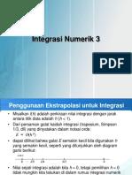 13. Integrasi Numerik 3