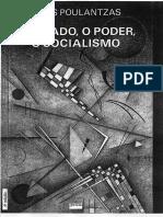 POULANTZAS N O Estado o Poder o Socialismo PDF