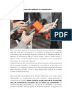 La Democratización de La Comunicación en Ecuador