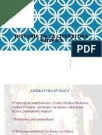 Historia de La Lioteratura