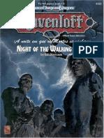 TSR 9253 RQ1 a Noite Em Que Os Mortos Caminham