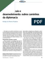 PERPETUO, Rodrigo. Governos Locais e o Desenvolvimento- Outros Amihos Da Diplomacia