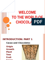 Chocolate Science Workshop