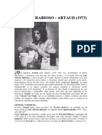 Pescado Rabioso (1973) Artaud