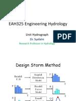 Unit Hydrograph Jan 2014