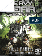 Heavy Gear Blitz Field Manual - Core Rulebook Revised (9003188)