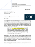 Letter to Orange County Counsel Letter From OCDA