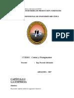 Libro Costos Cap. 1 y 2