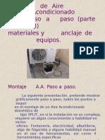 Instalacion de Un AA SPLIT