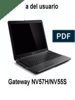 Manual Gateway 1.0 ES NV55S
