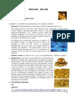 Geologia Del Oro
