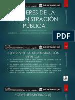 Poderes de La Administración Pública - Autor José María Pacori Cari