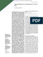 Aetiology, pathogenesis, and pathology of cervical neoplasia