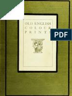 (1909) Old English Colour Prints