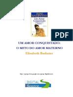 Elisabeth Badinter-Un Amor Conquistado