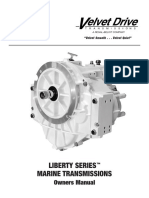 Velvet Drive Liberty 5000 Series Owners Manual