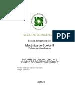 Lab 2 de Suelos II -Giancarlo