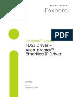 FDSI Driver – Allen-Bradley® EtherNet/IP Driver