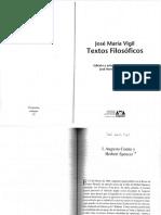 José María VIgil - Textos Filosoficos