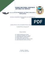 Mineria Caudalosa Parte Caratula, Introduccion, Conclusiones