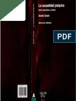 André Green - 1995 - La Causalidad Psíquica. Entre Naturaleza y Cultura
