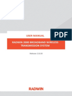 User Manual Radwin 2000