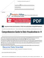 Comprehensive Guide to Data Visualization in R