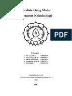 Analisis Geng Motor