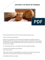 Galletas de Grasa Parecidas a Las Típicas de Gualeguay – RecetasArgentinas