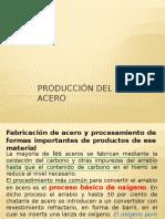 Producción Del Acero