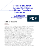 A Brief History of Aircraft Carburetors and Fuel Systems