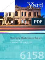 East Fremantle Quarterly Report (Jan-Mar 2016)