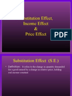 Income Effect and Substitution Effect Power Point