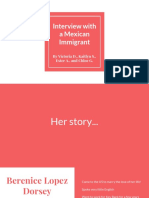 immigrant research project