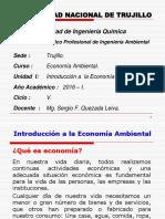 UNIDAD I Introducción Economía Ambiental Leandro