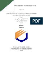 Laporan Pengukuran Geometrik Ulir Agung&Asep