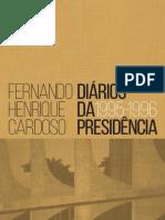 Diarios Da Presidencia - Fernando Henrique Cardoso