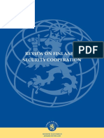 Review on Finlands Security Cooperation