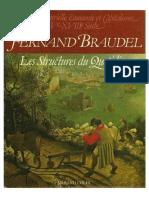 Fernand Braudel - Civilización material, economía y capitalismo, siglos XV-XVIII. vol. 1