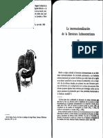 La Internacionalización de La Lit Latinoamericana ALEJANDRO LOSADA